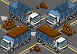 Truck 22 Vehicle Isometric