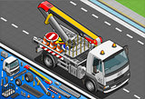 Truck 23 Vehicle Isometric