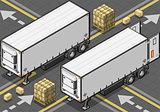Truck 24 Vehicle Isometric
