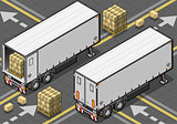 Truck 28 Vehicle Isometric