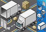 Truck 30 Vehicle Isometric