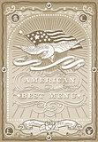 USA Menu 01 Vintage 2D