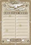 USA Menu 03 Vintage 2D
