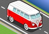 Van 01 Vehicle Isometric