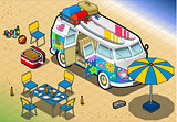 Van 06 Vehicle Isometric