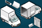 Van 12 Vehicle Isometric