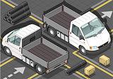 Van 13 Vehicle Isometric