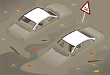 White Car 02 Vehicle Isometric