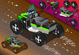 Quad Bike 01 Vehicle Isometric