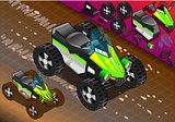 Quad Bike 02 Vehicle Isometric