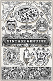 Retro Labels 01 Vintage 2D