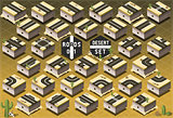 Roads 03 Tiles Isometric
