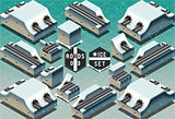 Roads 08 Tiles Isometric