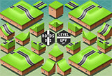 Roads 09 Tiles Isometric