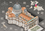Rome 02 Building Isometric
