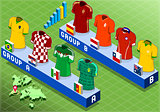 Soccer 02 People Isometric