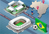 Stadium 01 Building Isometric