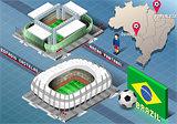 Stadium 01 Building Isometric