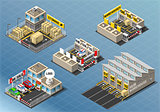Storage 01 Building Isometric