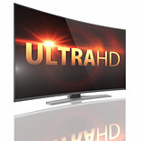 UltraHD Smart Tv with Curved screen