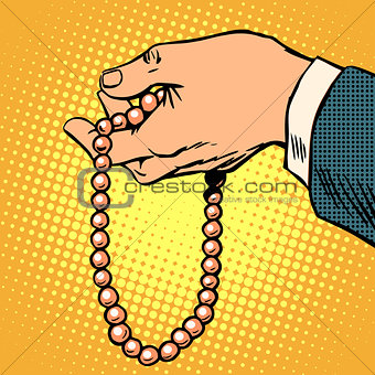 Beads decoration gift prayer beads religion