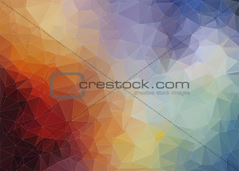 Abstract   colorful background with angulars