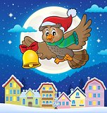 Christmas owl theme image 4