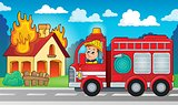 Fire truck theme image 5
