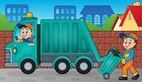 Garbage collector theme image 3