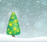 Stylized Christmas tree topic image 6