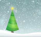 Stylized Christmas tree topic image 7