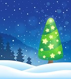 Stylized Christmas tree topic image 8
