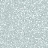 Beautiful polygonal constellation vector illustration of a starry night
