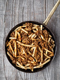 rustic american chili fries