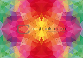 abstract floral seamless vector pattern