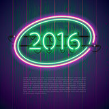 Ultraviolet Glowing Neon Sign 2016