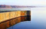 Dam reservoir
