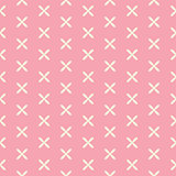 Romantic Seamless Pattern Background Vector Illustration