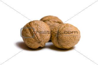 Three tasty walnut for a nutritious snack