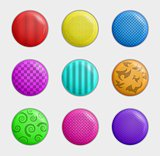 color badges collection