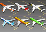 Airplanes 01 Vehicle Isometric