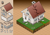 Earthquake 01 Building Isometric