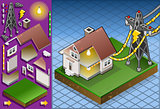 Electrical Energy 01 Building Isometric
