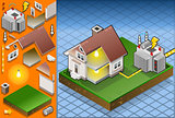 Electrical Energy 02 Building Isometric