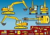 Excavator 02 Vehicle 2D