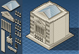 Exchange 01 Building Isometric