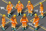 Foreman 01 People Isometric