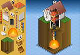 Geothermal 02 Building Isometric
