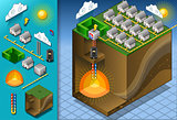 Geothermal 03 Building Isometric