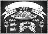 Menu Banner 01 Vintage Blackboard 2D